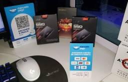 Título do anúncio: SSD de 120 Gb ou 256 Gb para computador (PC) ou notebook