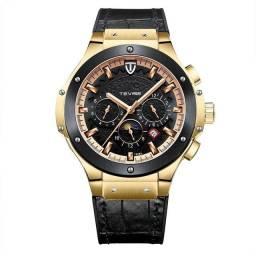 Relógio automático masculino original Tevise