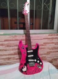 Guitarra Eagle - Rosa
