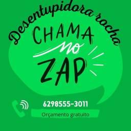 Título do anúncio: * Desentupidora , chama no ZAP*