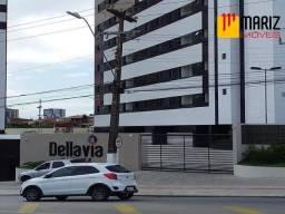 APARTAMENTO RESIDENCIAL em MACEIÓ - AL, EDIFÍCO DELLAVIA PARK CLUB - BARRO DURO