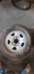 Título do anúncio: Roda com pneu