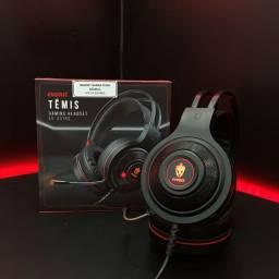 Título do anúncio: Headset Led Gamer - Têmis Evolut P2/Usb - Os melhores acessorios só na Smart!
