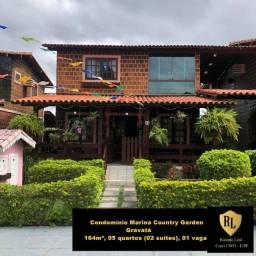 Vendo Casa em Gravatá, 164m², 05 quartos (02 suítes)