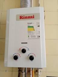 Aquecedor a Gás (GN) Rinnai 7,5 litros