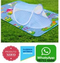 Berço portátil,dobrável cercado c/ mosquiteiro Cama para bebe .ZAP 987516696