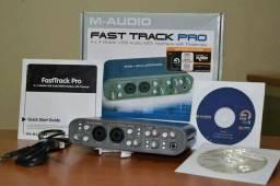 Placa de áudio Fast Track-pro