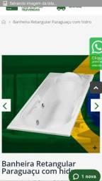 Banheira hidro de fibra comprar usado  Guarulhos