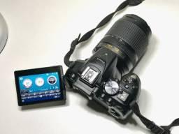 Baixei!! Nikon D5300 com lente 18-140mm