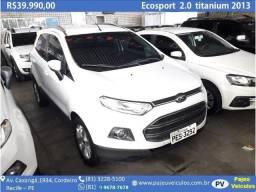 Ecosport 2.0 Titanium 2013 Automático, financiamos - 2013