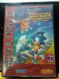 (Mega kids) Wacky Worlds (cartucho Mega-Drive)