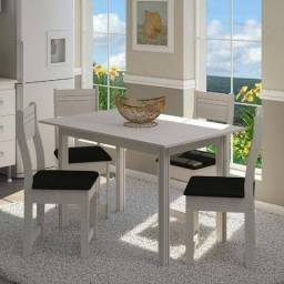 Conjunto de Mesa 4 Cadeiras Dallas Indekes