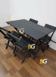 Mesa e cadeira para Bar70x70