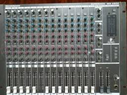 Mesa de som EURORACK 20 canais todos funcionando mesa top