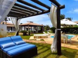 Casa 6 quartos, Piscina, Hidro, Beira Mar, Condomínio Fechado Jubiabá entre Abaís e Saco