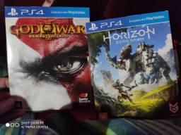 God Of War 3 Remasterizado / Horizon New Dawn