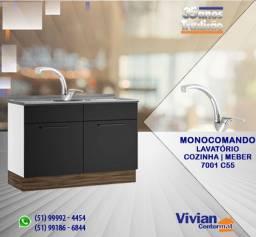 Título do anúncio: Misturador Monocomando | 7001 C55 | Meber