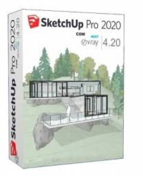 Combo Sketchup Pro 2020 + Vray
