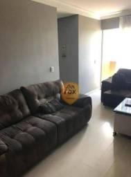 Apartamento com 3 dormitórios para alugar, 59 m² por R$ 1.800,00/mês - Cajuru - Curitiba/P