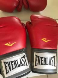 Luvas de boxe Everlast NUNCA USADAS