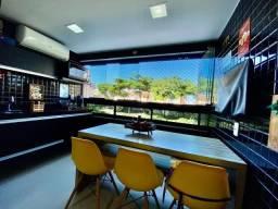 3 suites com varanda gourmet climatizada na Jatiúca