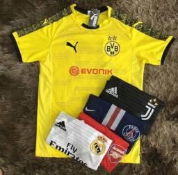 Camisas de times europeus disponível!!!