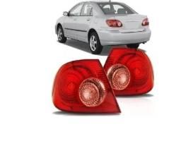 Par Lanterna Traseira Toyota Corolla 2005 2006 2007 Canto 360,00