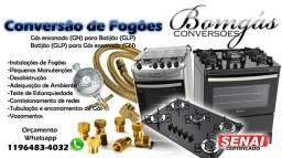 Conversão Fogão