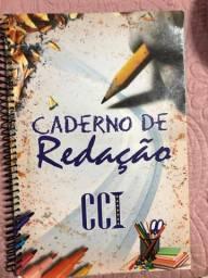 Caderno de redação CCI