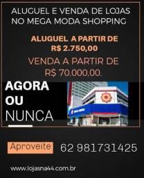 Vendo e alugo lojas no Mega Moda Shopping 44