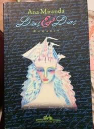 Livro Dias E Dias, da autora Ana Miranda
