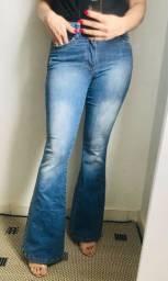 Calça jeans com elastano marca Contrasensura
