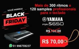 Ritmos sampleados para o teclado psr s650 da yamaha