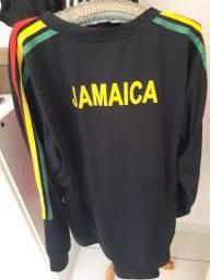 Camisa seleção jamaica manga longa