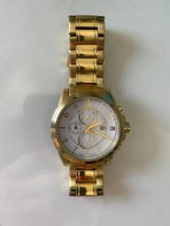 Relógio Masculino Tommy Hilfiger em Aço Dourado Original