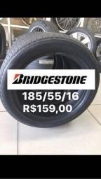 185/55/16 Bridgestone Semi novo