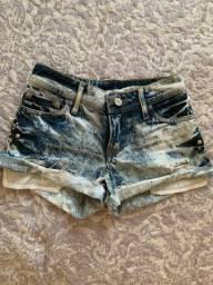 Short jeans tamanho 32