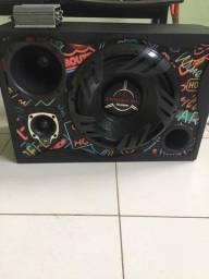 Caixa de som com módulo Taramps TS400