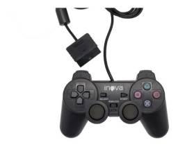 Controle Para Vídeo Game Play2 Com Fio Original Inova