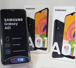 Samsung A01 novo 32gb com nota leia a descrição fazemos no crediario