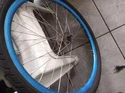 Roda folha aero raiacao inox cubo de rolamento