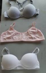 Lote calcinhas soutien lingerie