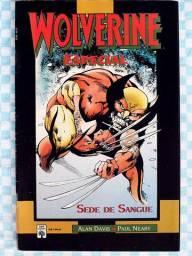 Wolverine - Sede de Sangue [Marvel | HQ Gibi Quadrinhos]
