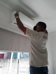 Técnico em ar condicionado residencial R$100