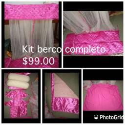 Kit berço ( usado apenas como decoração)