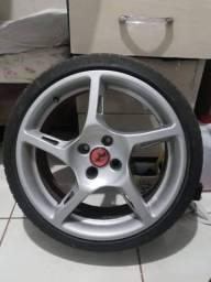 Troco pneu 195/40 por 165/40