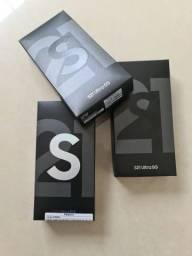 S21 ultra prata ou preto lacrado