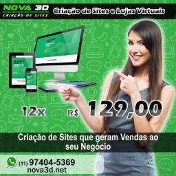 Título do anúncio: Criação / Desenvolvimento de Sites e Lojas Virtuais