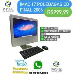iMac 17? CD Final de 2006 (3 x sem juros)