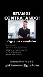 Título do anúncio: vaga para vendedor- enviar currículo no e-mail